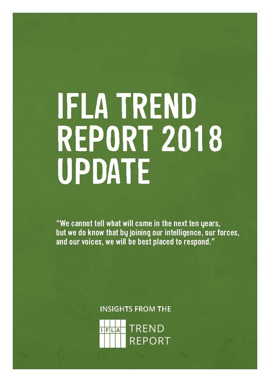 IFLA Trend Report 2018 Update